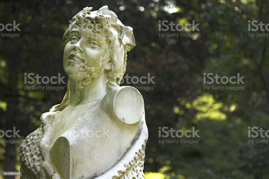 Statue bust royalty-free stock photo