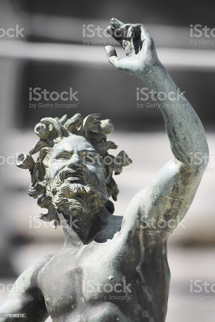 Statue close-up royalty-free stock photo