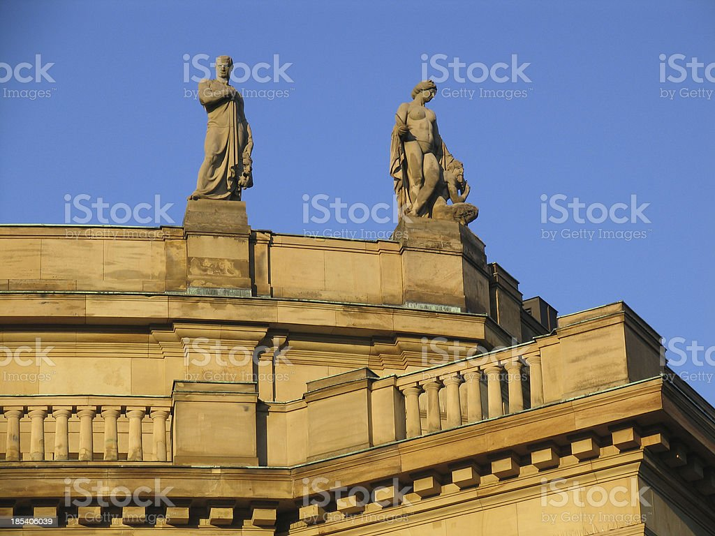 statue couple royalty-free stock photo