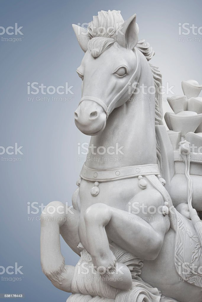 statue Horse stock photo