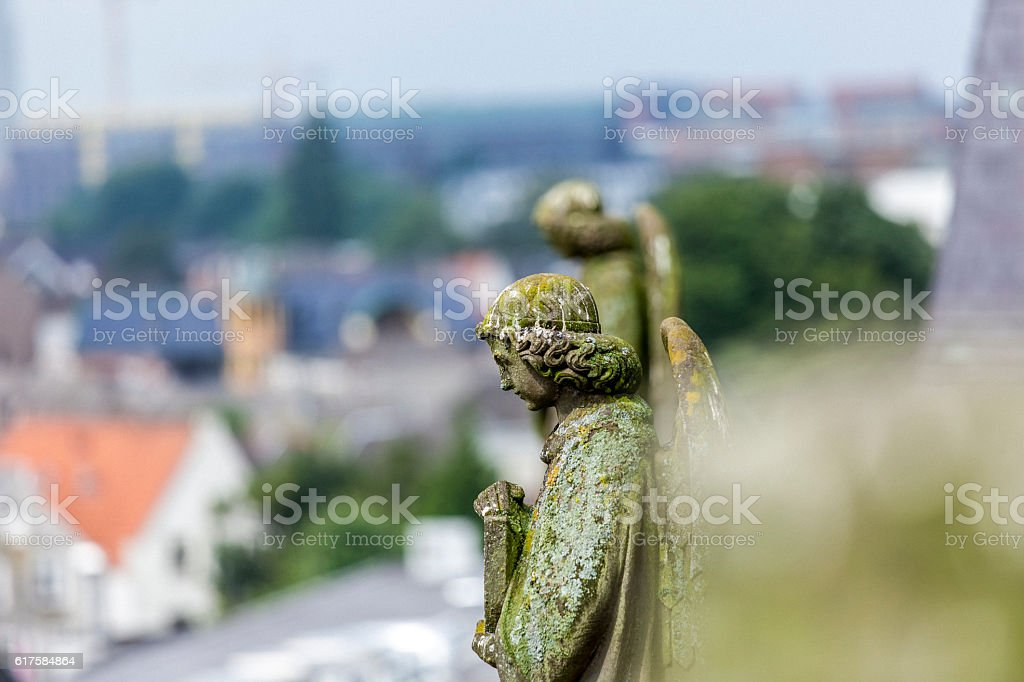 Statue of an angel stock photo