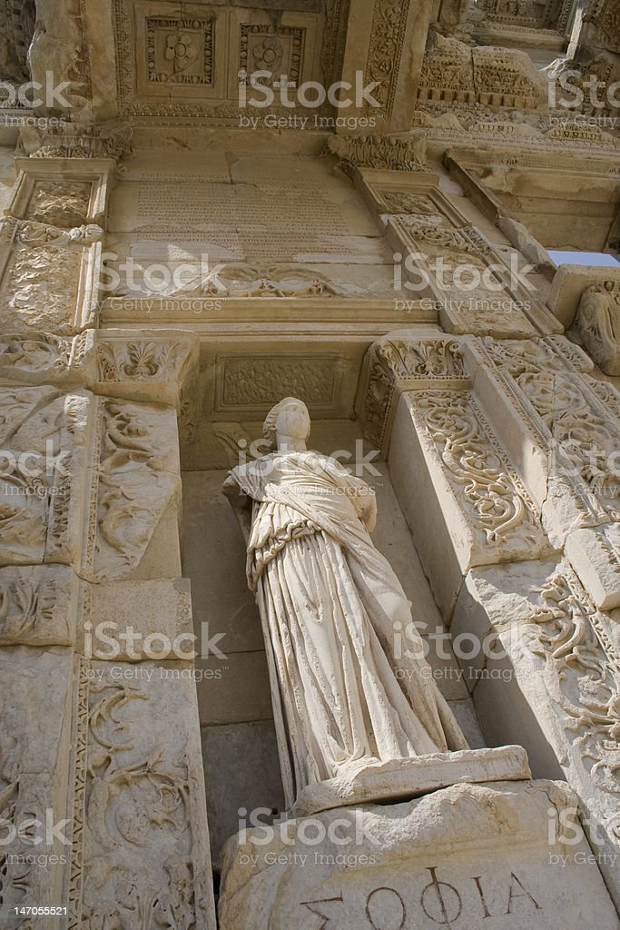 Statue Of Artemis royalty-free stock photo