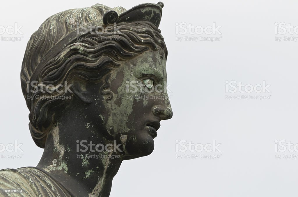 Statue of Artemis stock photo