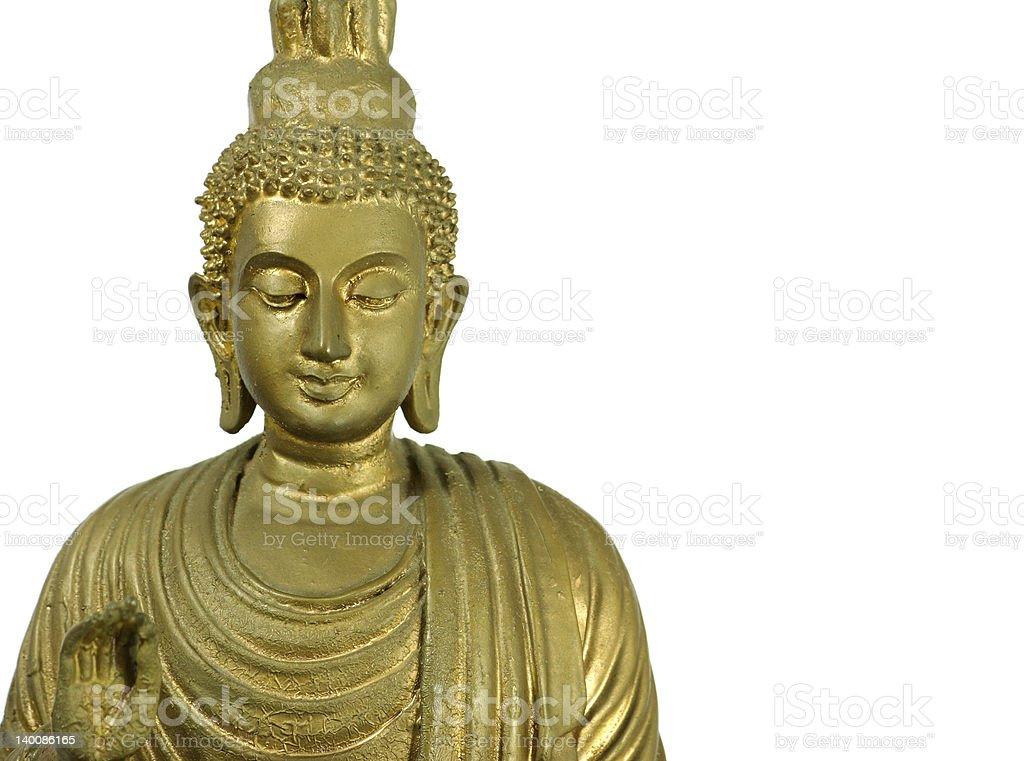 Statue of Bouddha stock photo