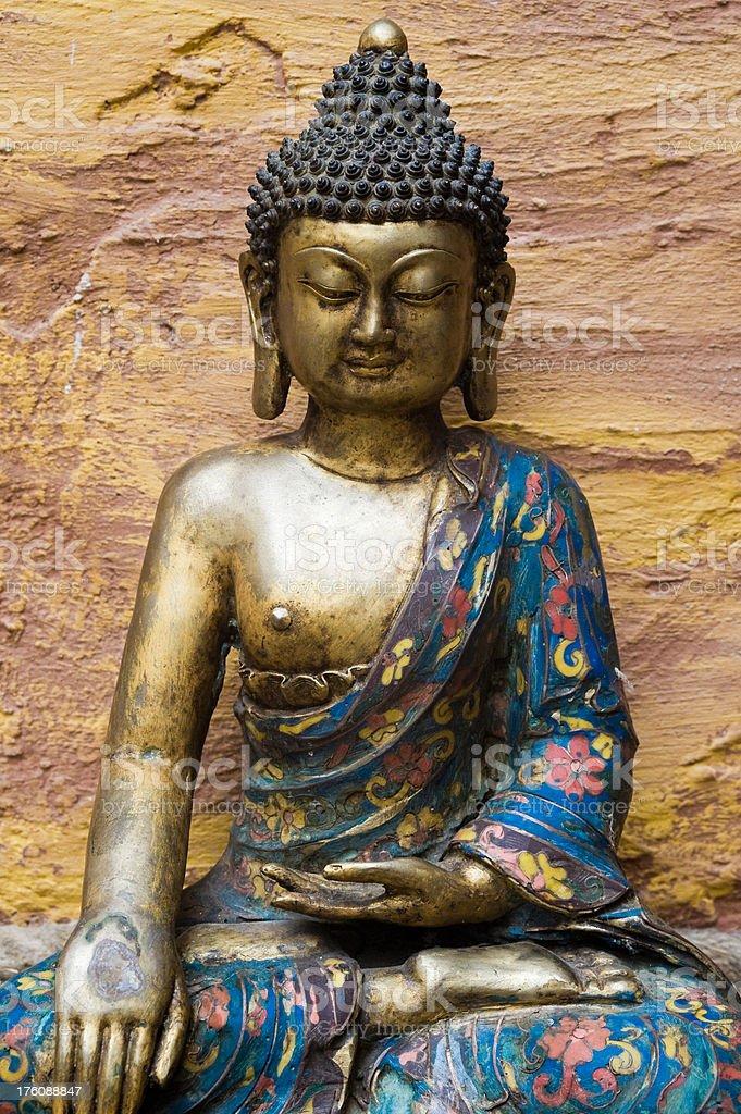 Statue of Bouddha royalty-free stock photo