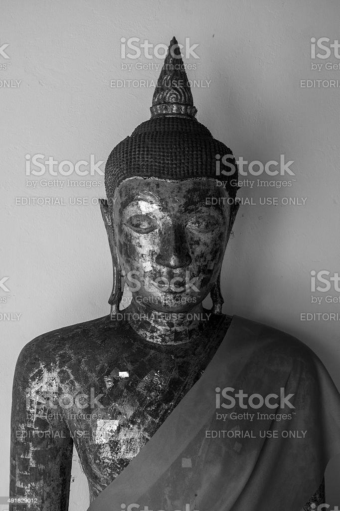 Statue de Bouddha de Suratthani, en Thaïlande photo libre de droits