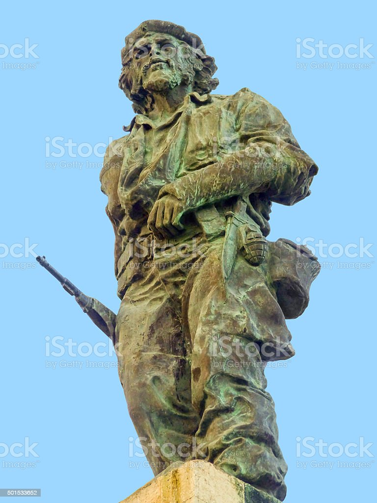 statue of Che Guevara stock photo