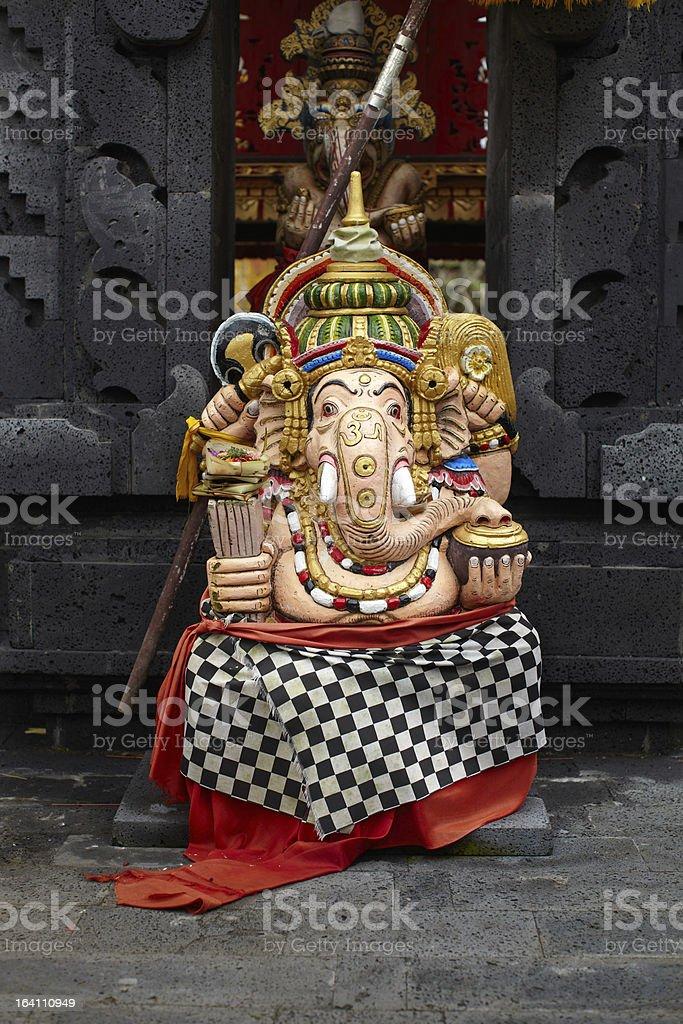 Statue of Ganesa god royalty-free stock photo