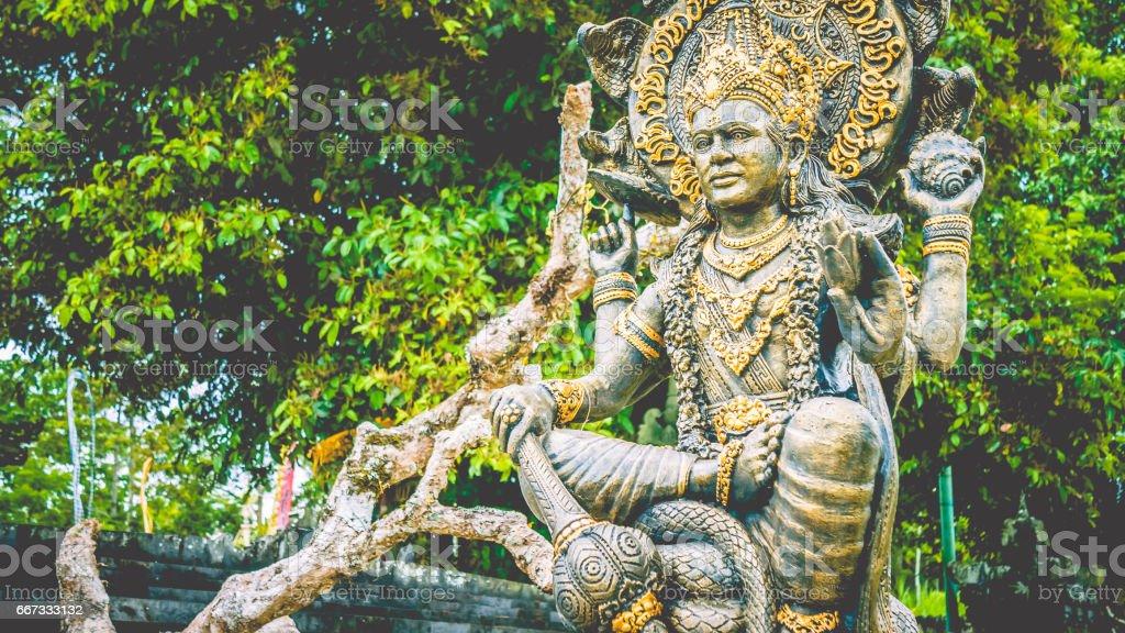 Statue of ganesha in Kuta Bali, indonesia stock photo