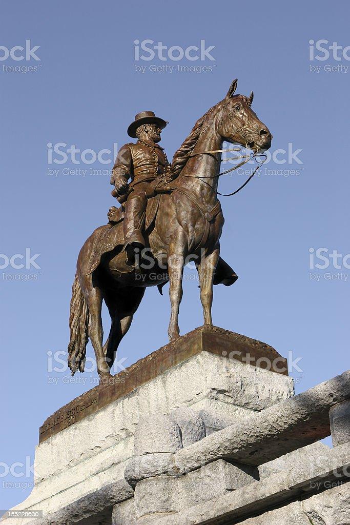 Statue of Grant stock photo