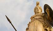 Statue of Greek goddess, Athena