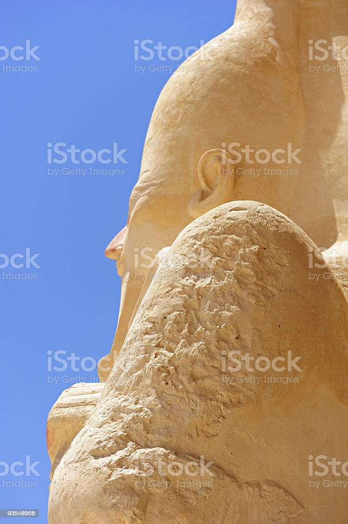 Statue of Hatshepsut stock photo