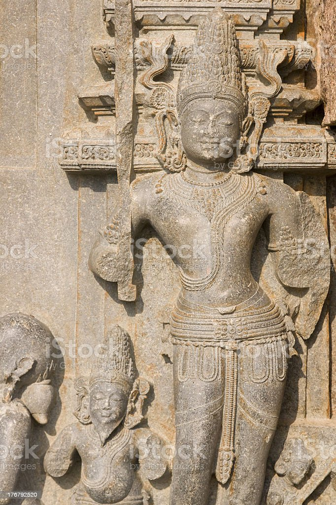 Statue Of Hindu God royalty-free stock photo