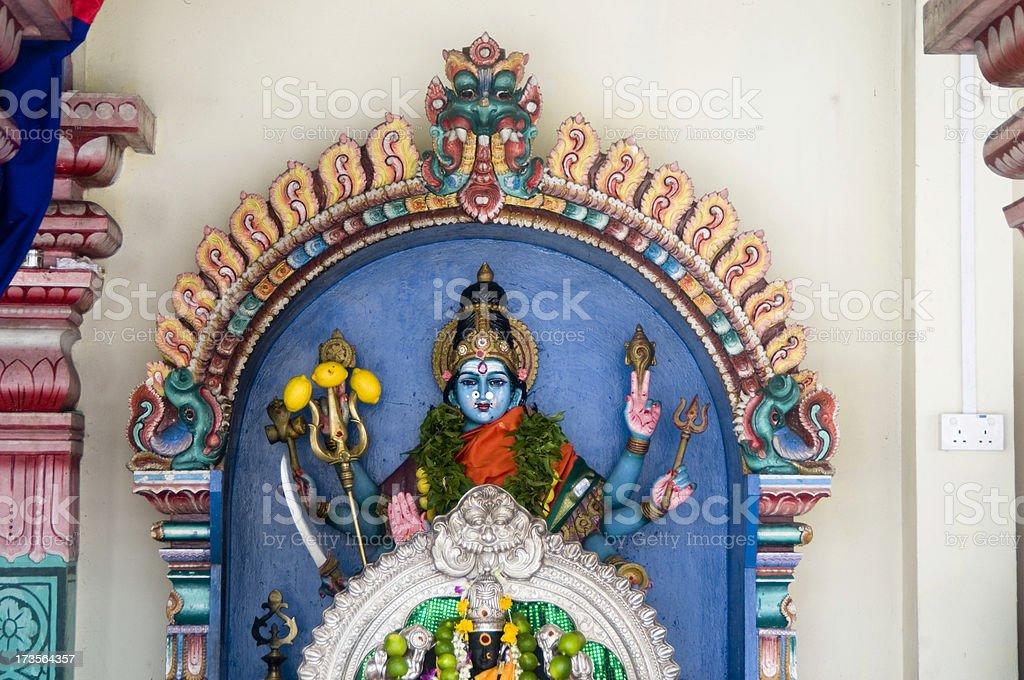 Statue of Hindu Godness royalty-free stock photo