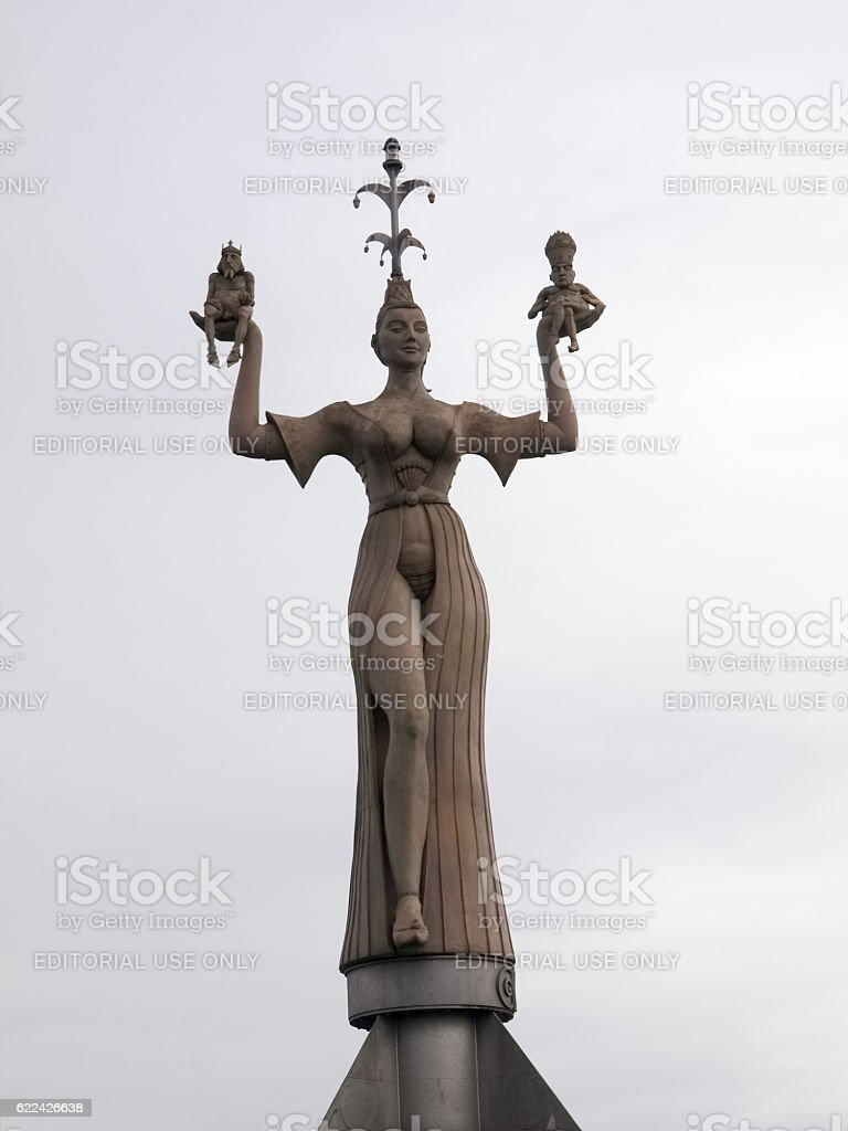 Statue of Imperia stock photo