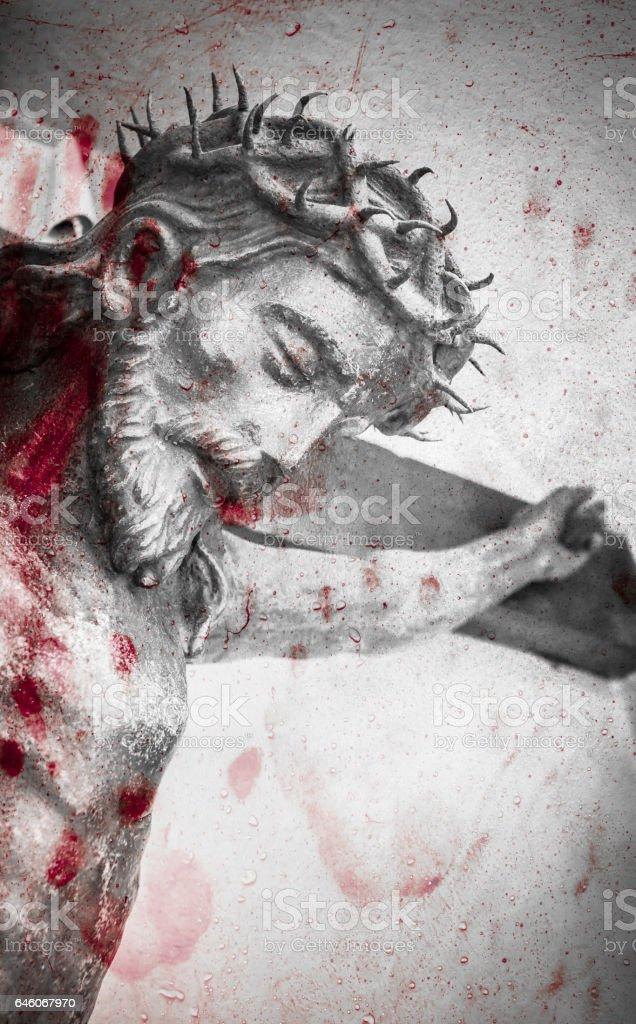 Statue of Jesus Christ stock photo