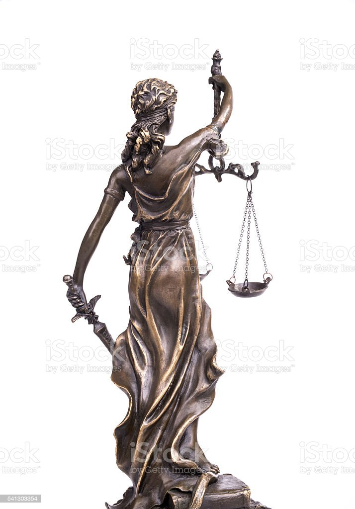 Statue of justice,law concept stock photo