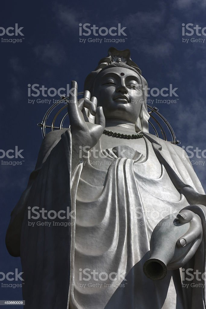 Statue of Kannon royalty-free stock photo