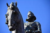 Statue of king Philip III on the horse