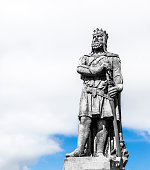 Statue of King Robert the Bruce of Scotland