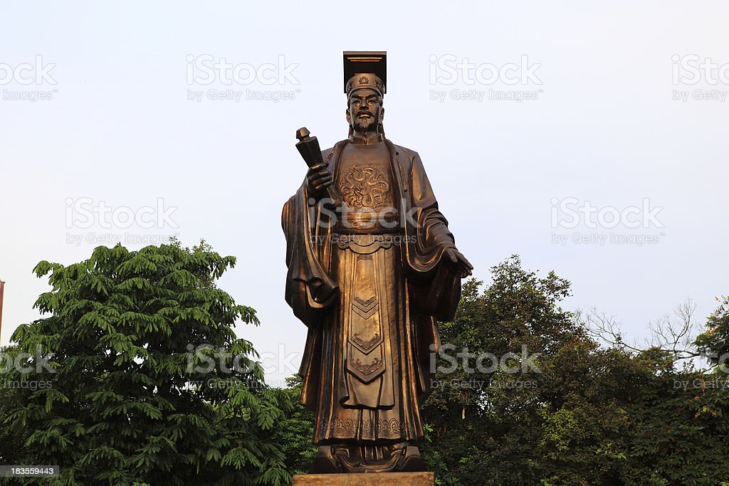 Statue of Le Loi royalty-free stock photo