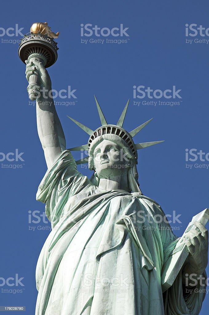 Statue de la liberté des gros plan photo libre de droits
