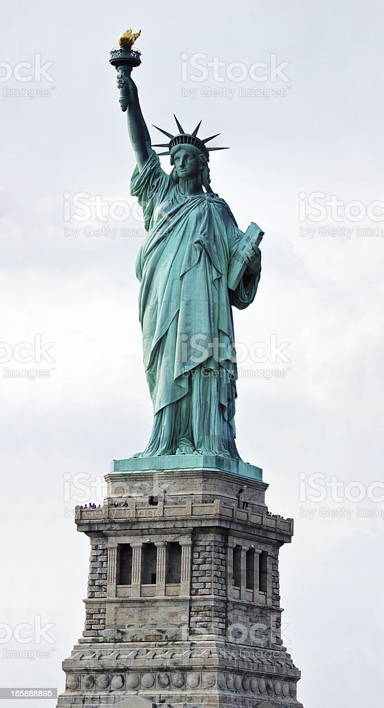 Statue of Liberty in New York City. royalty-free stock photo