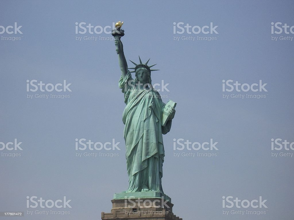 Statue of Liberty in NYC royalty-free stock photo