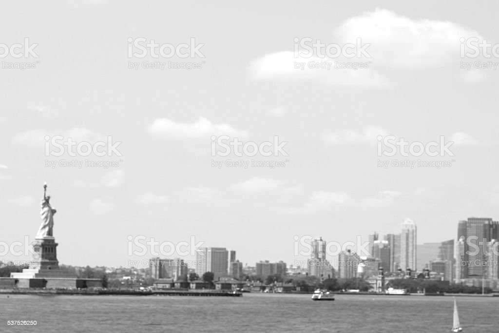 Statue of Liberty in NYC stock photo