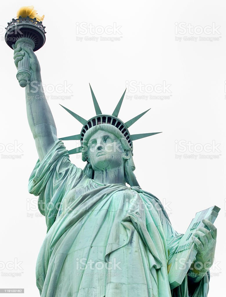 Statue of Liberty, New York City stock photo