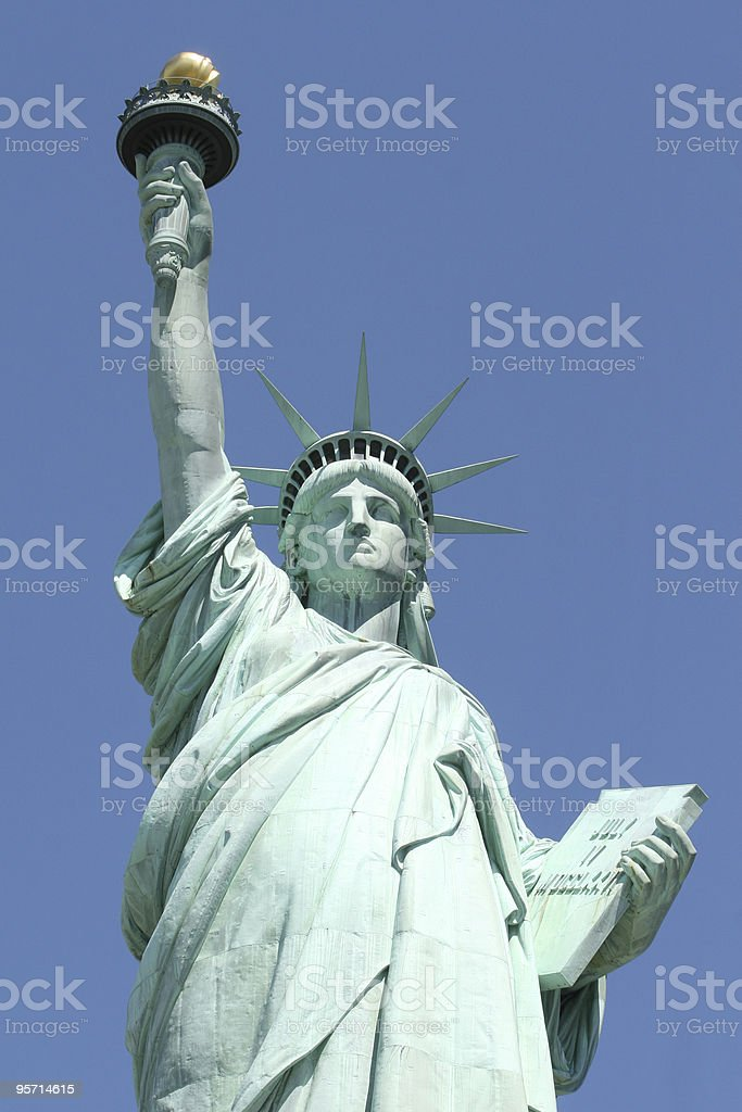 Statue of Liberty #4 - New York City stock photo