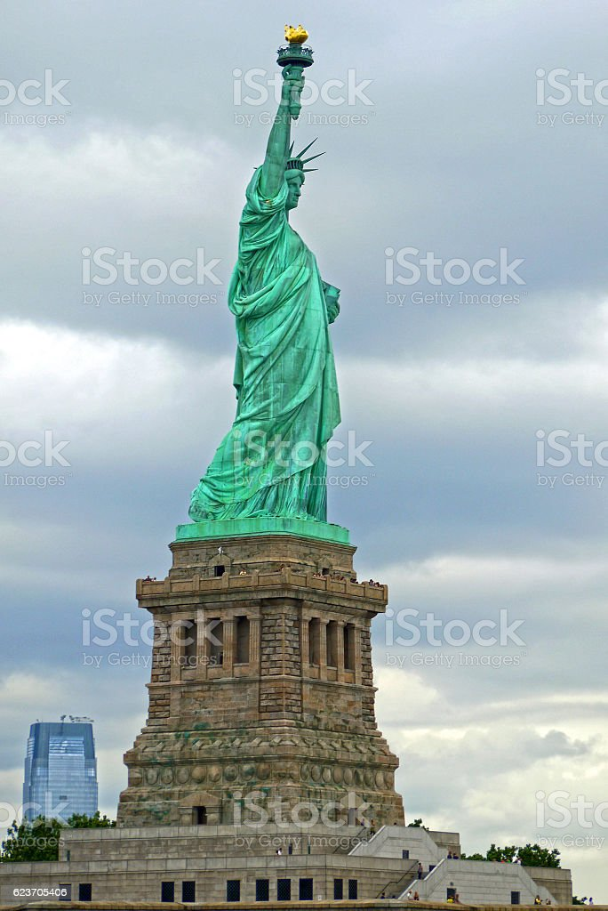 Statue of liberty, New York. USA. stock photo