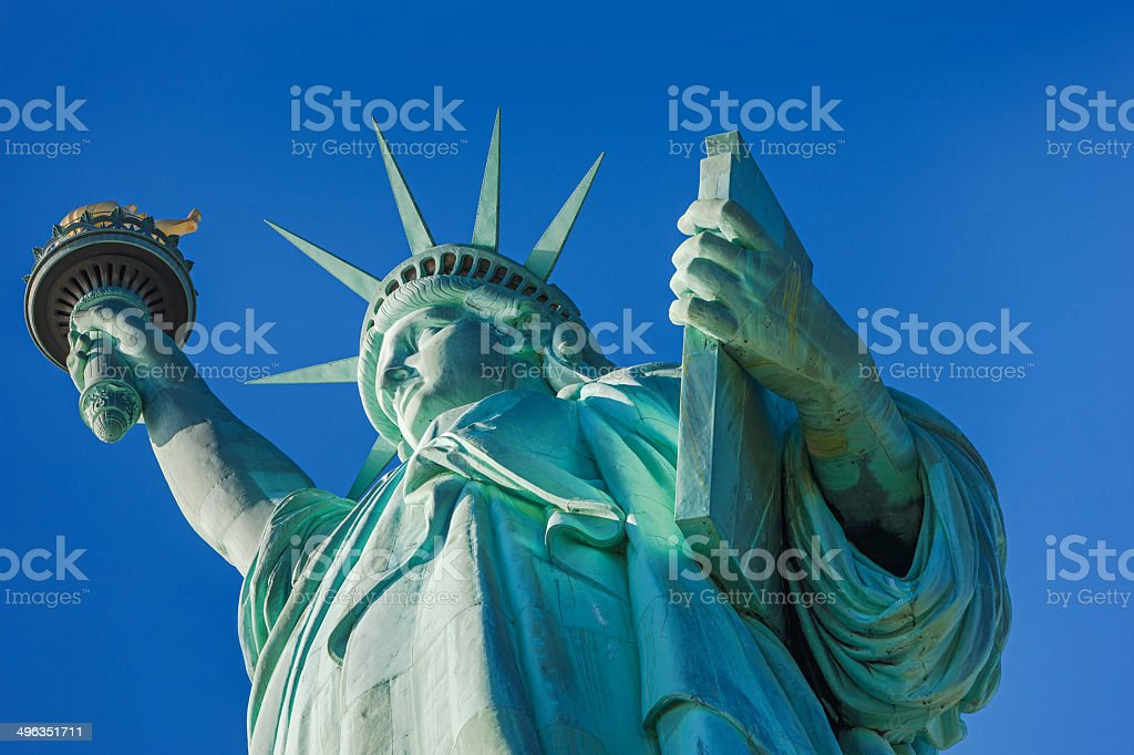 Statue of Liberty, NYC stock photo