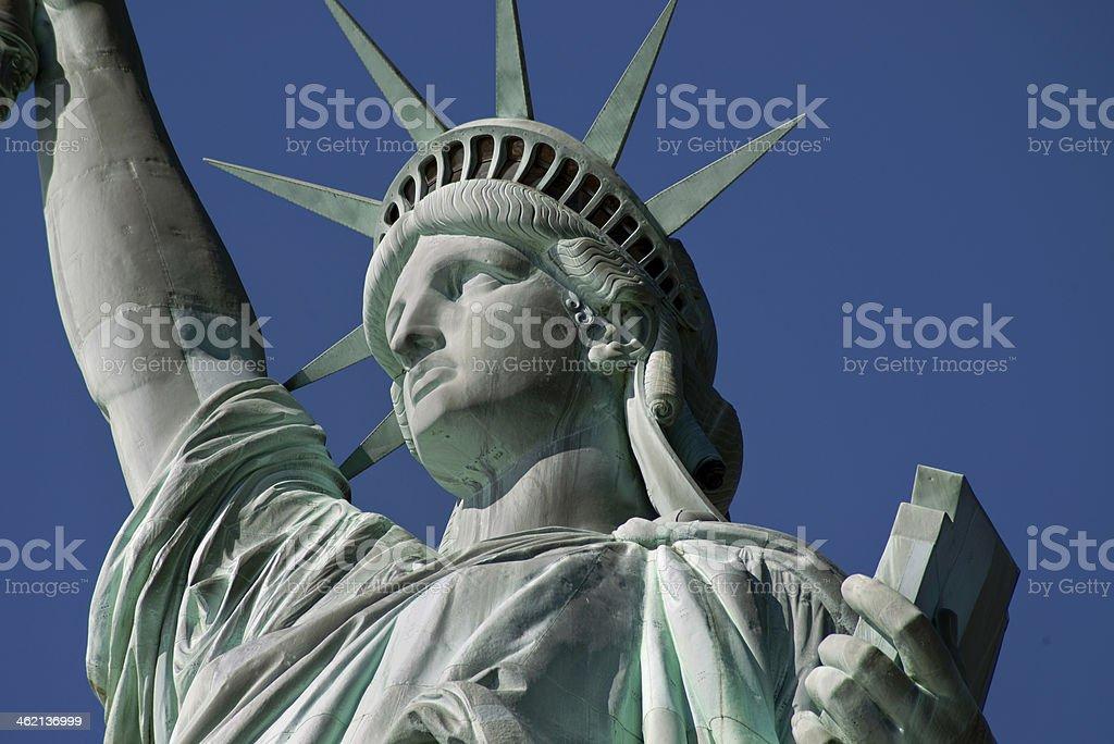Statue of Liberty. stock photo
