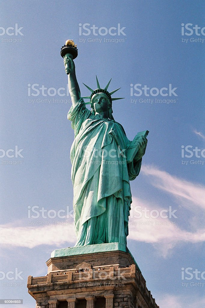 NYC - Statue of Liberty royalty-free stock photo