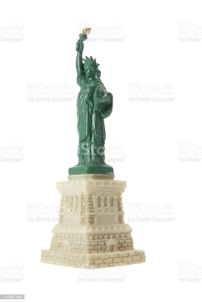 Statue of Liberty Souvenir stock photo