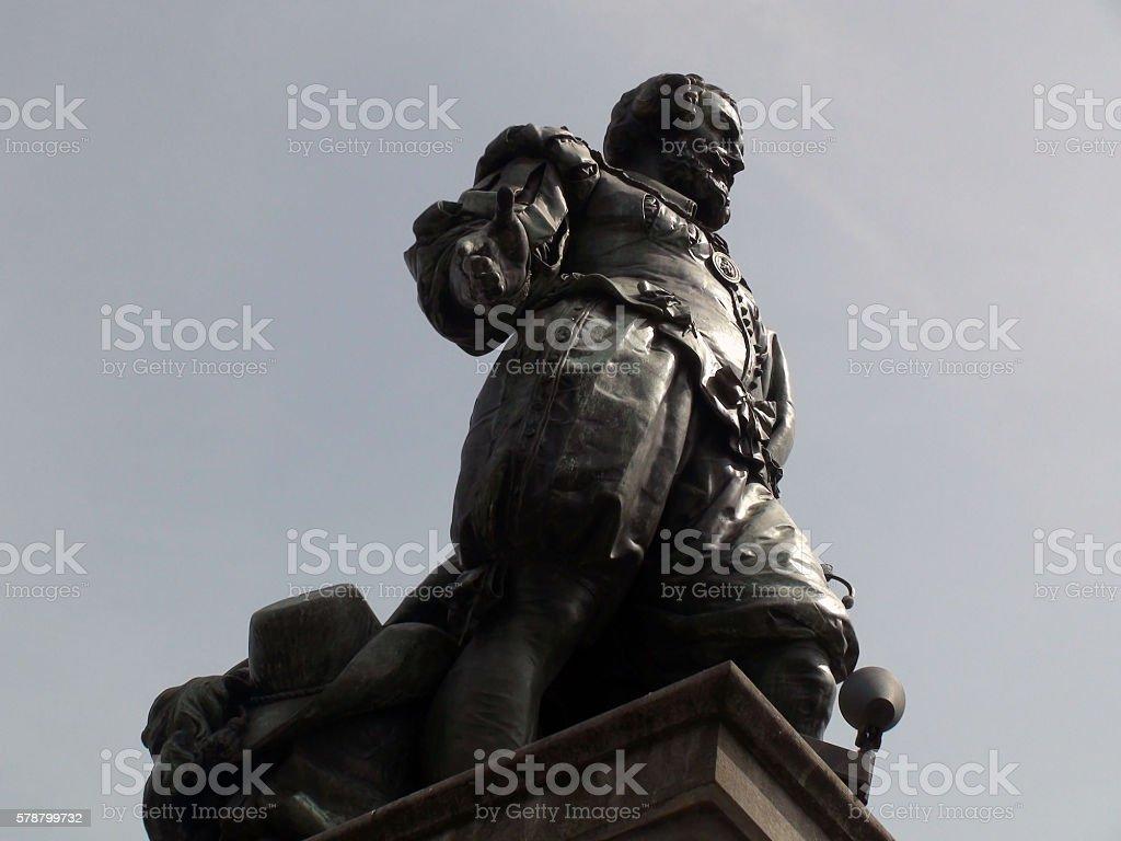 Statue Of  Peter Paul Rubens In Antwerp Belgium Europe stock photo