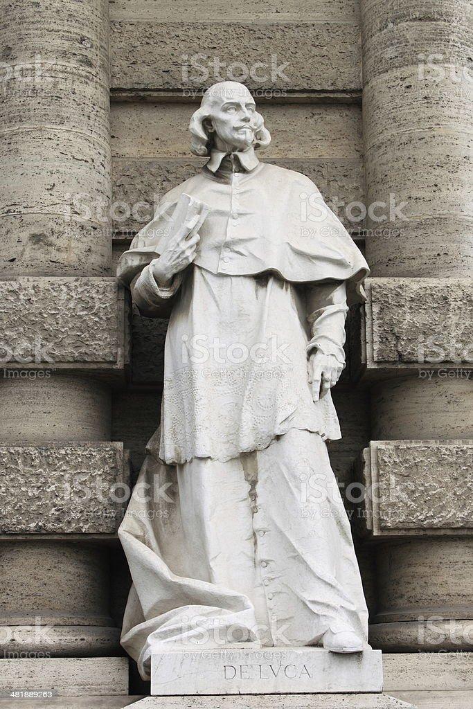 Statue of philosopher stock photo
