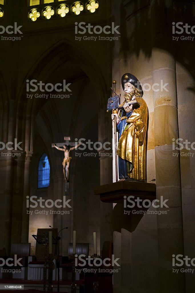 Statue of Saint James royalty-free stock photo