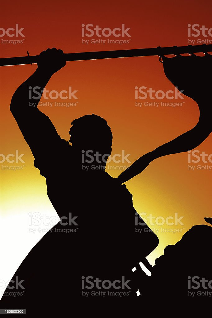Statue of Spanish Explorer - Balboa royalty-free stock photo
