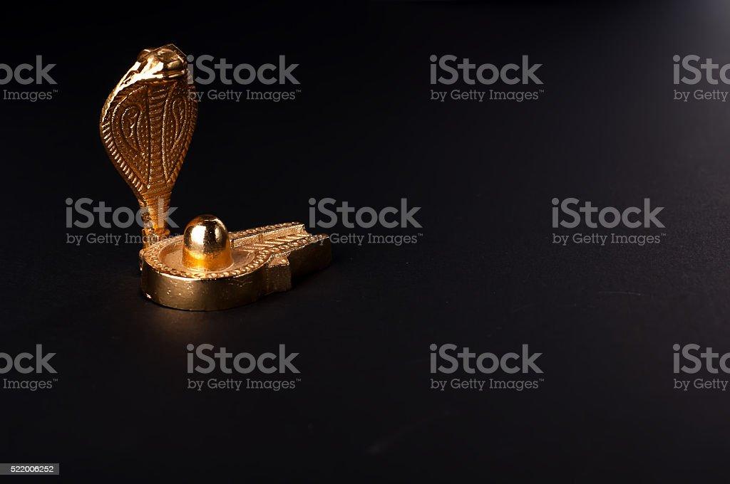 statue of the cobra stock photo