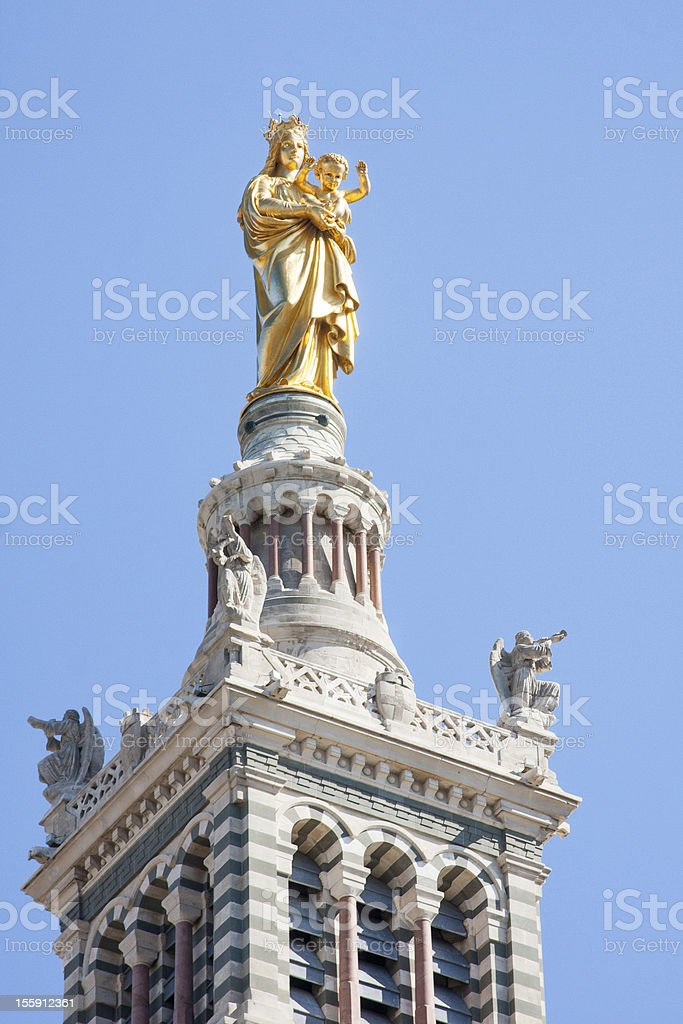 Statue of the Madonna and Child royalty-free stock photo