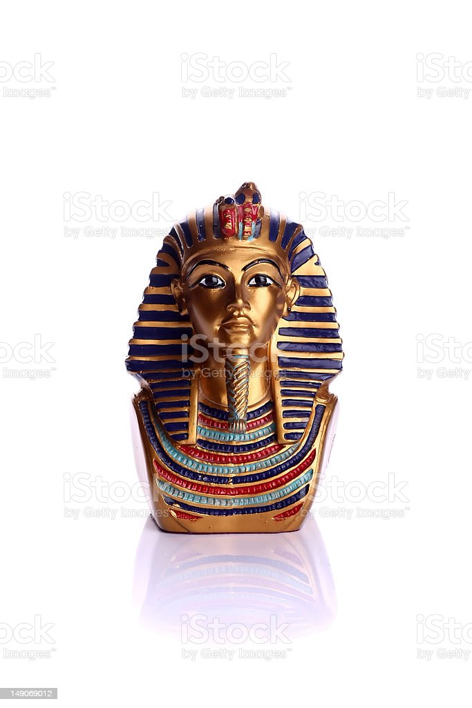 Statue of Tutankhamen royalty-free stock photo