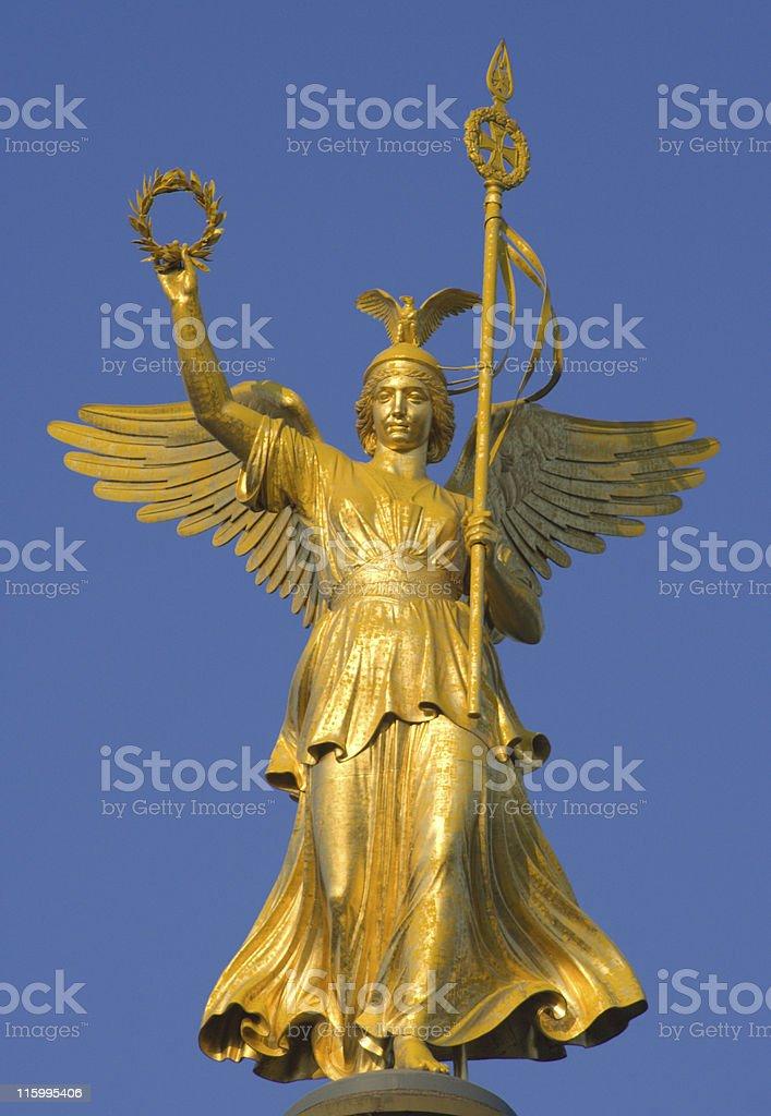 Statue Of Victoria stock photo