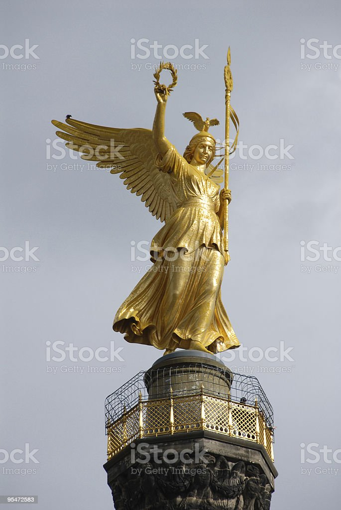 Statue of Victoria royalty-free stock photo