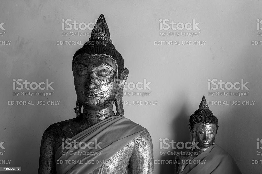 Statues de Bouddha de Suratthani, en Thaïlande photo libre de droits