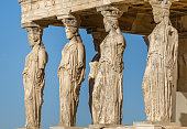 Statues of the Caryatids Greece