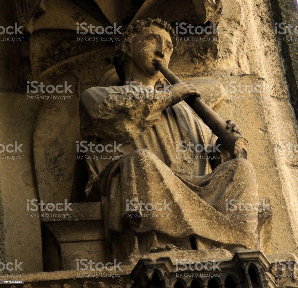 statues stock photo