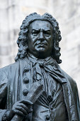 Statute of Johann Sebastian Bach in Leipzig, Germany