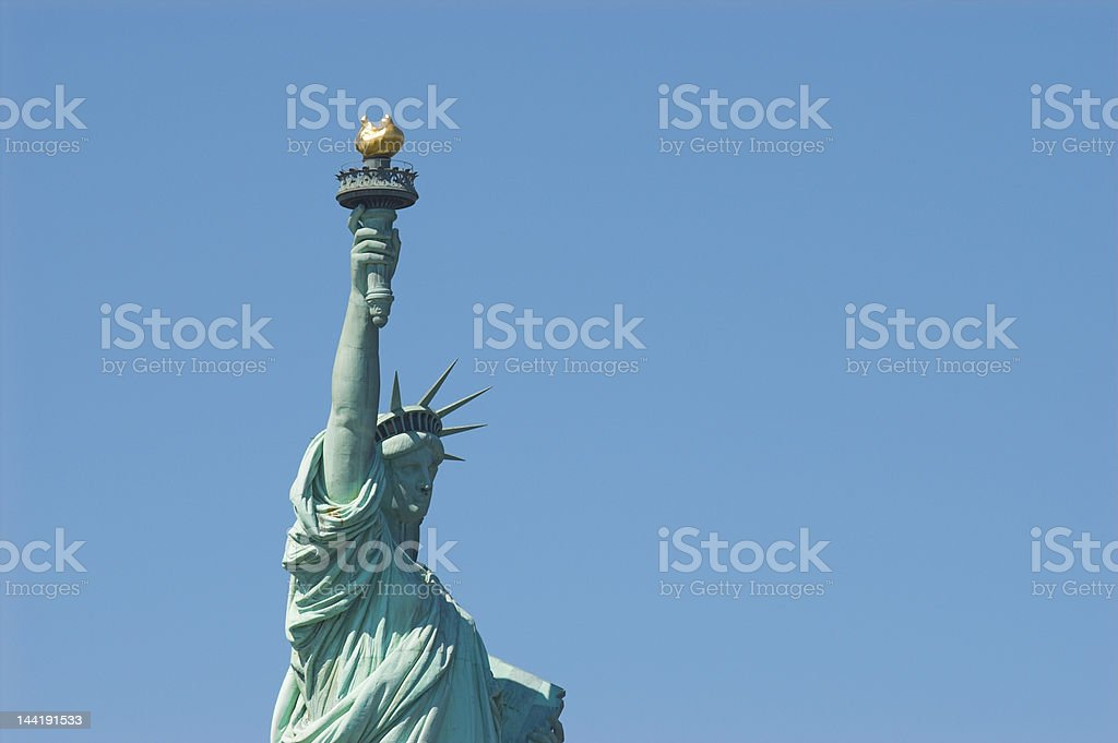Statuy of Liberty stock photo